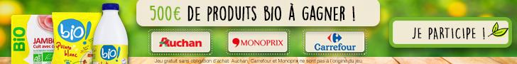 Conso-Enquête Carrefour / Auchan / Monoprix : Bio !