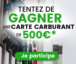 Gagner une carte carburant de 500€