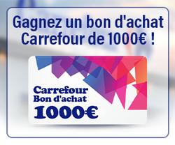 Bon d'achat Carrefour de 1000€