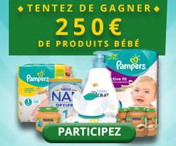 Gagnez 250€ de produits bébé | Vip Concours