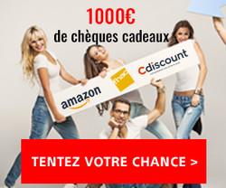 Enquête-Shopping Carte cadeau Amazon Cdiscount Fnac