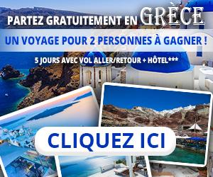 Gagnez Un voyage en Grèce | Vip Concours
