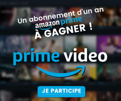 Abonnement Amazon Prime 1 an à gagner