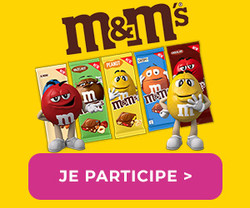Enquête-Shopping Tablette m&m's