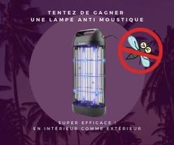 Plein2Kdo - Lampe anti moustiques