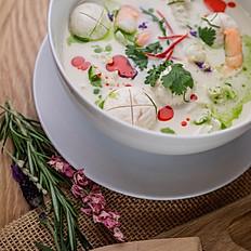 S1. Malaysian Coconut Soup