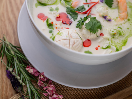 Malaysian Coconut Soup