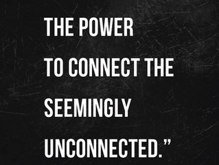 The seemingly unconnected...