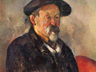 Cézanne and Frenhofer, -creativity in fiction and reality
