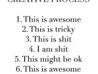 The creative process IRL