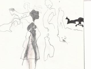 I draw to clear my mind