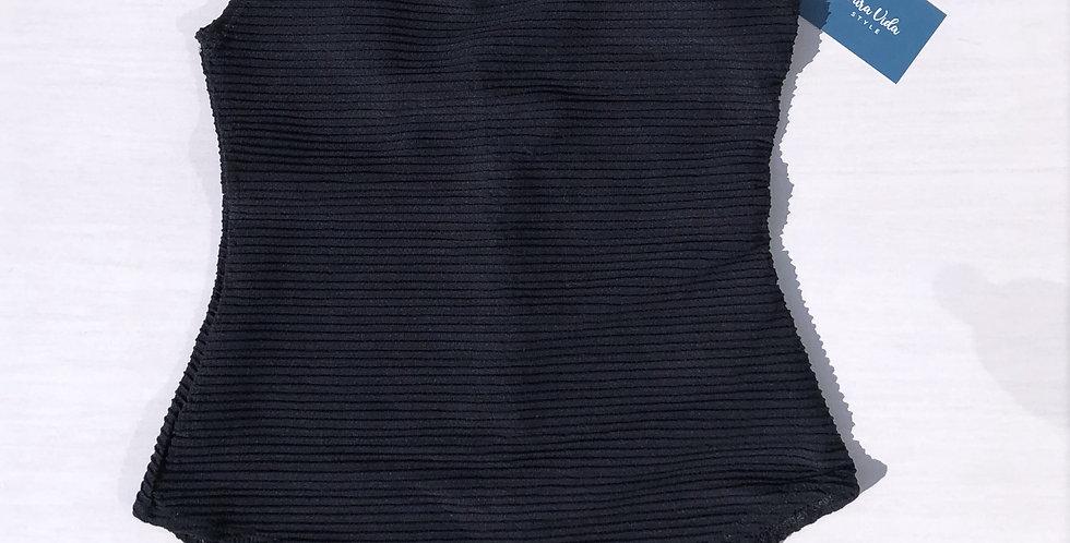 Body Preto - Tulum - Tamanho Médio