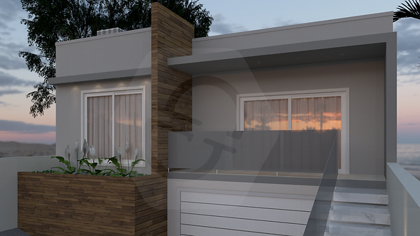 Maquete 3D Residencial