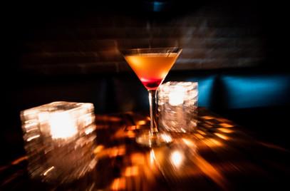 Pineapple Upsidedown Martini
