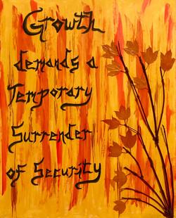 Growth Through Surrender
