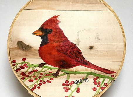 """The story behind """"Spring Cardinal"""""""