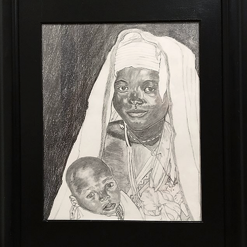 Somali Woman with Child
