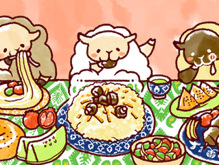 「羊の晩餐」の裏話