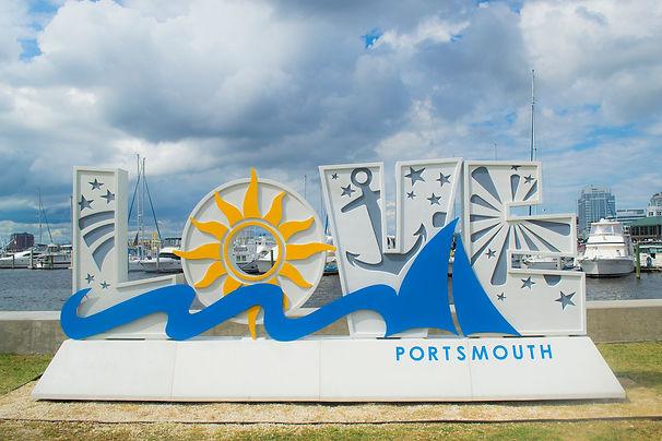 """I've been kissed"" – Support Portsmouth Public Art Frog Sculpture, Children's Museum of Portsmouth"