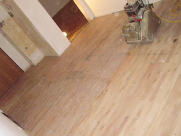 Renovace dubových a bukových parket