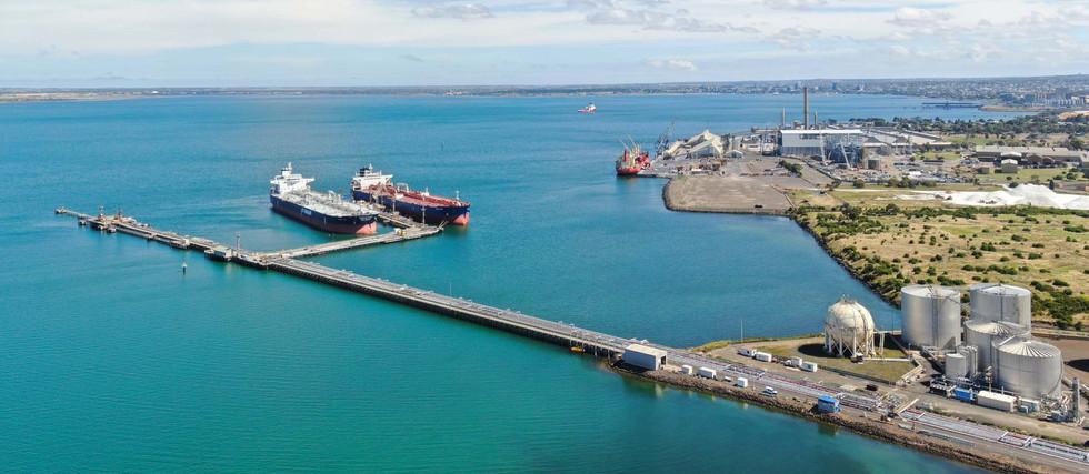 Geelong Refinery Pier 4