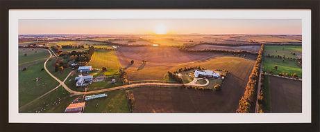 birragurra farm_framed wall image_aerial