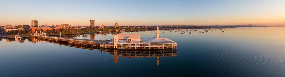 Cunningham Pier at Sunrise 1