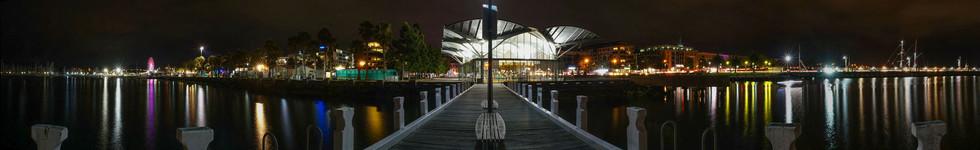 Geelong Carosel at Night