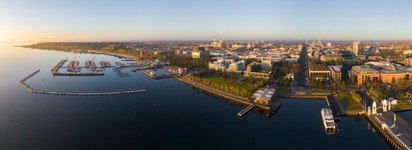 Geelong Waterfront at Sunrise