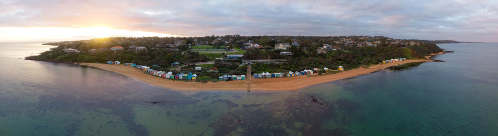 Mt Eliza Beach Boxes 1