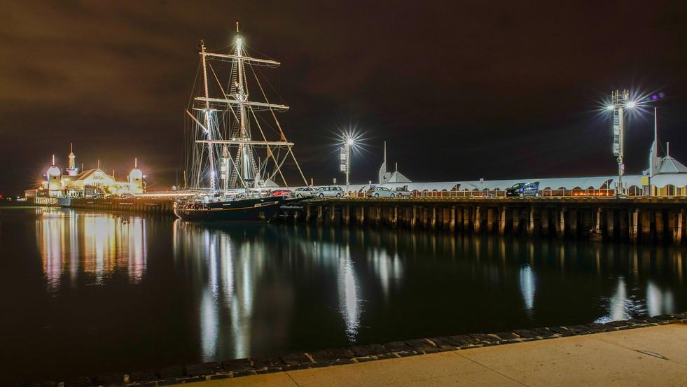 Tall Ship - Cunningham Pier