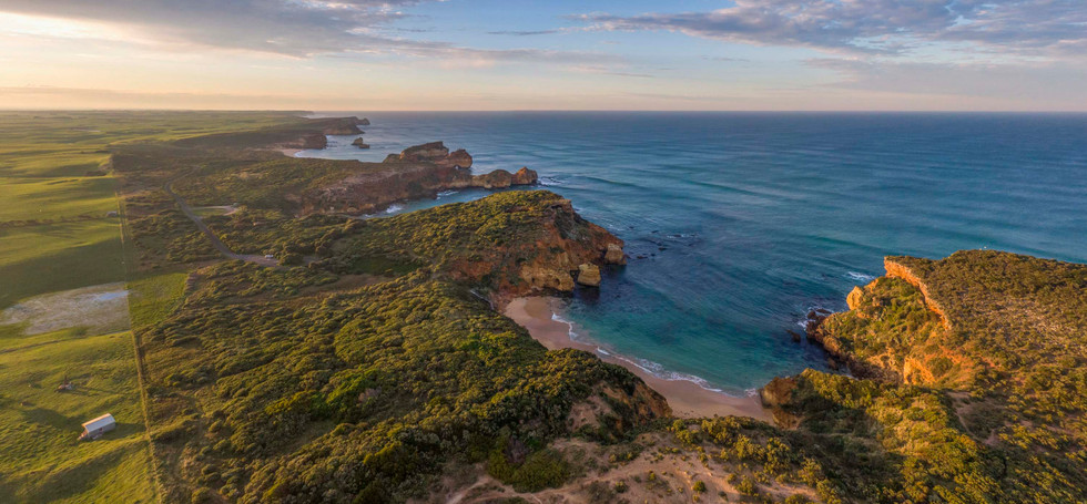 Childers Cove - Aerial Panorama 1