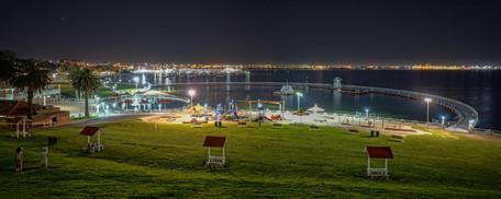 Eastern Beach at night