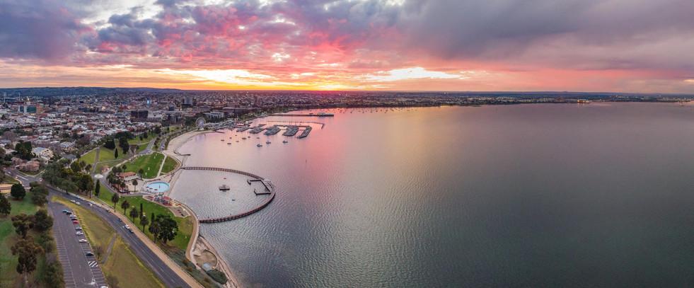 Geelong Waterfront Sunset 3