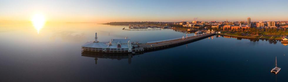 Cunningham Pier at Sunrise 4
