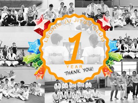 Leonis JJ Club 1 year anniversary