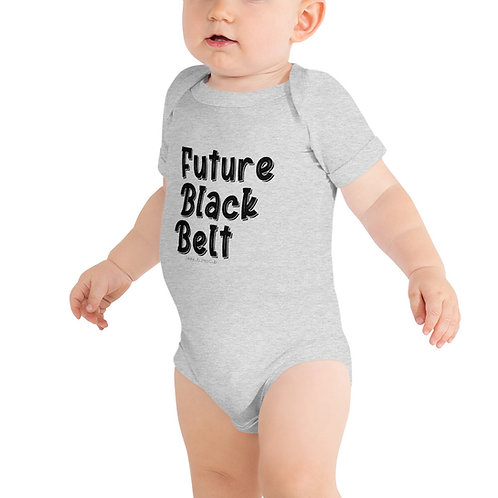 Black Belt - Baby Onesie