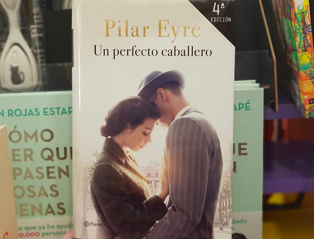 "Portada de ""Un perfecto caballero"" de Pilar Eyre. Fuente: propia."