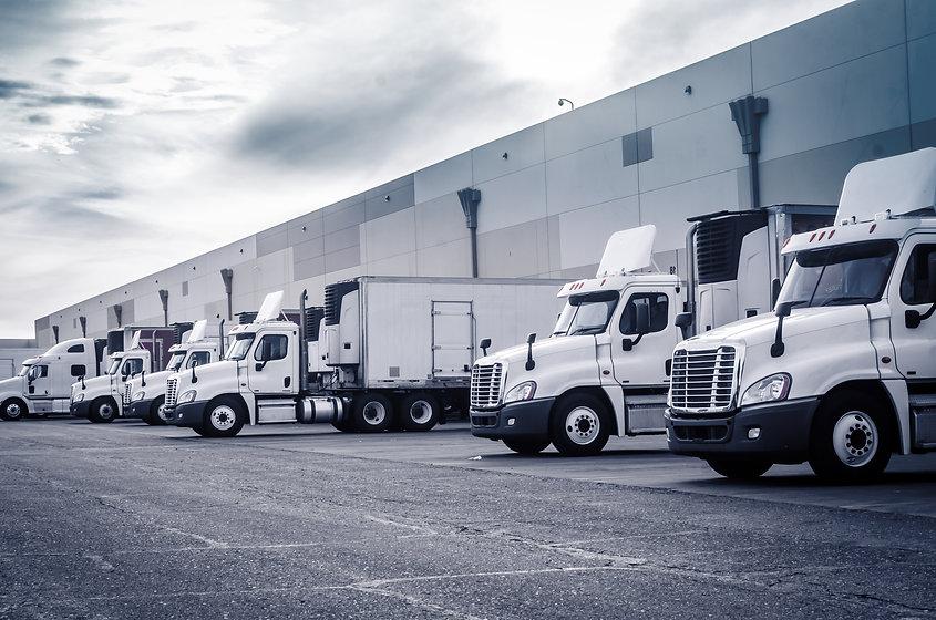 Delivering or Supply concept image.  Tru
