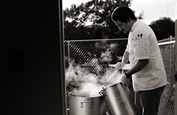 Commercial Photography of Chef