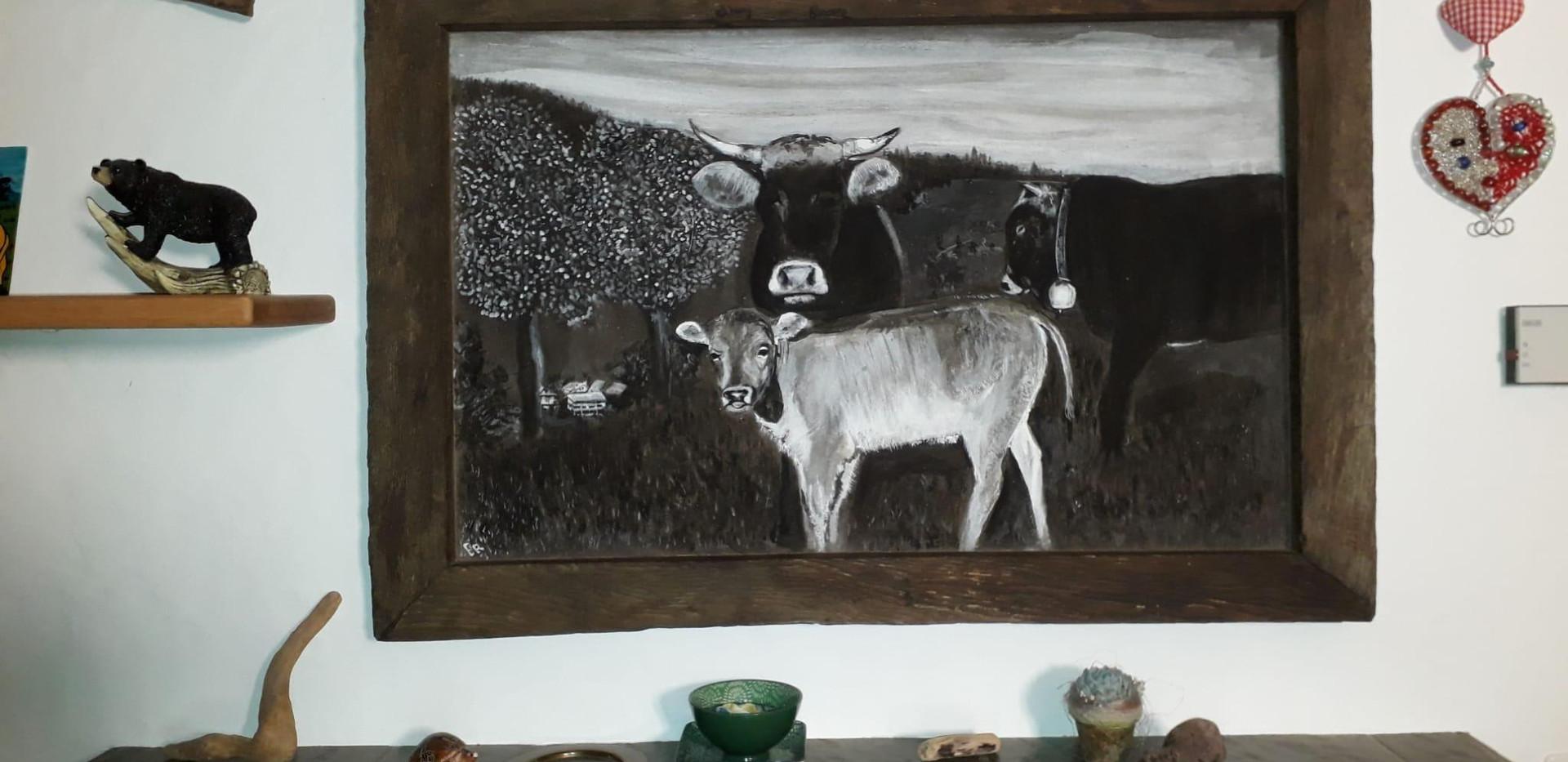 Lehmfarben-Malkurs Tom Eisenhut Herbligen