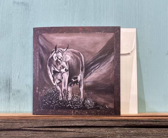 Kartennr. 055 Kuh Gerda