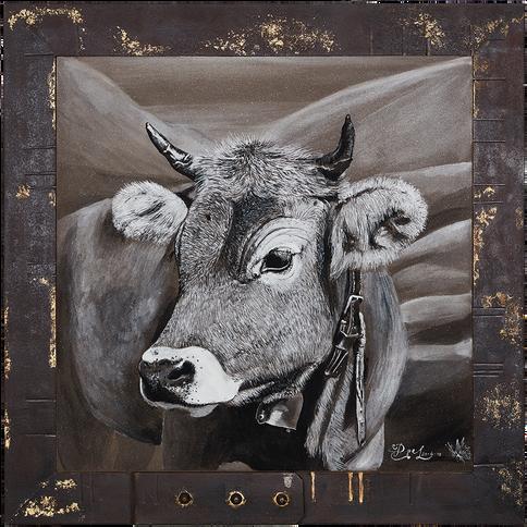 Bildnr. OR-005 Kuh mit Glocke