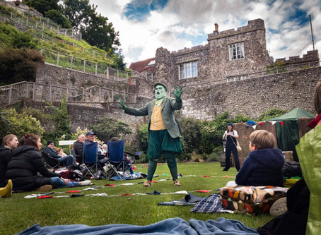 Brighton rocks to Wind in the Willows