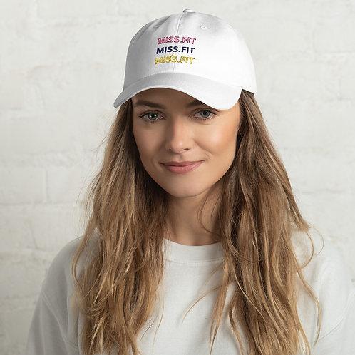 Miss.Fit Dad Hat