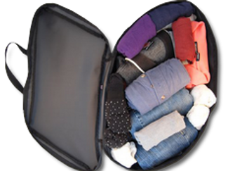 WEEKENDER Saddle Bag Suitcase