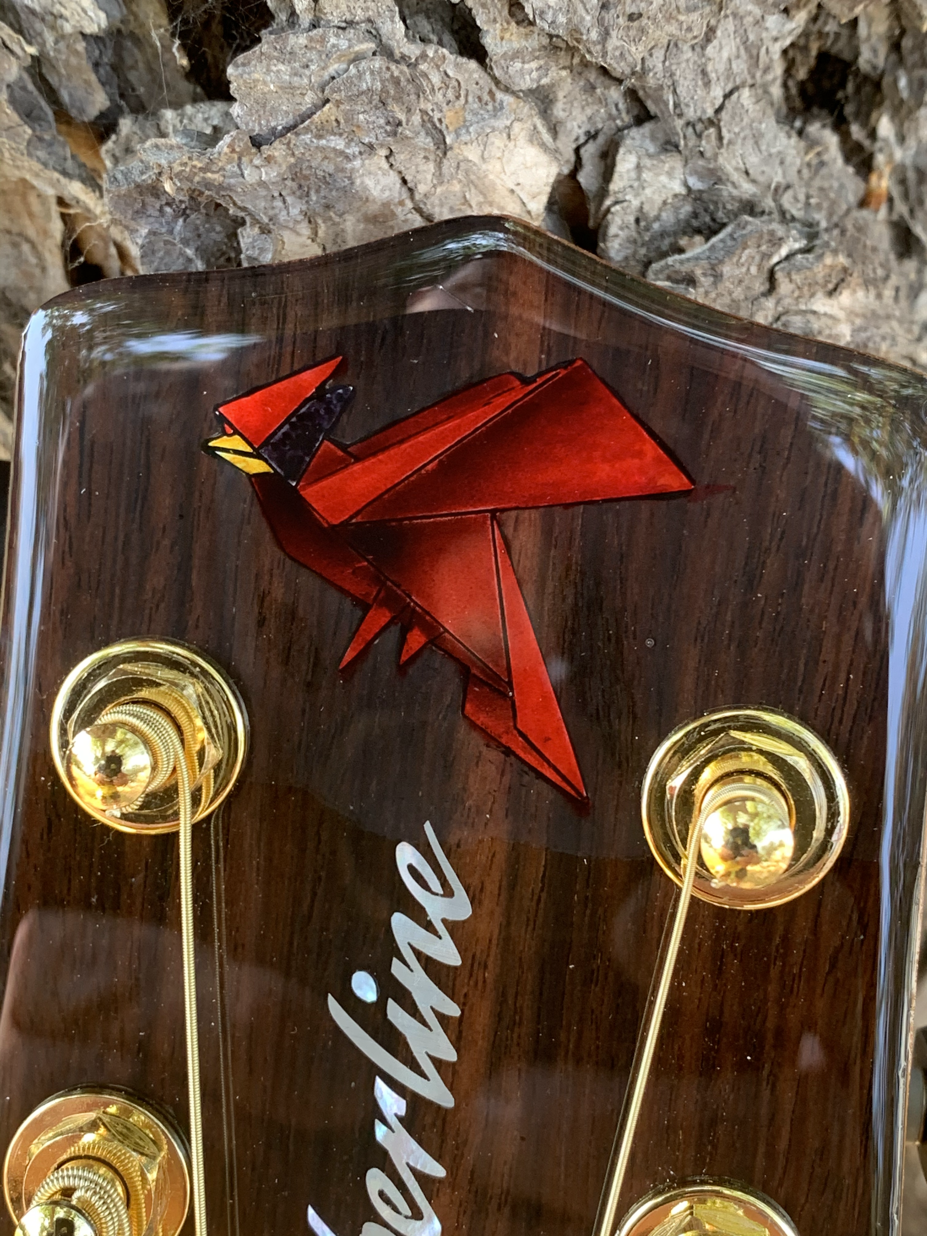 Oragami Cardinal