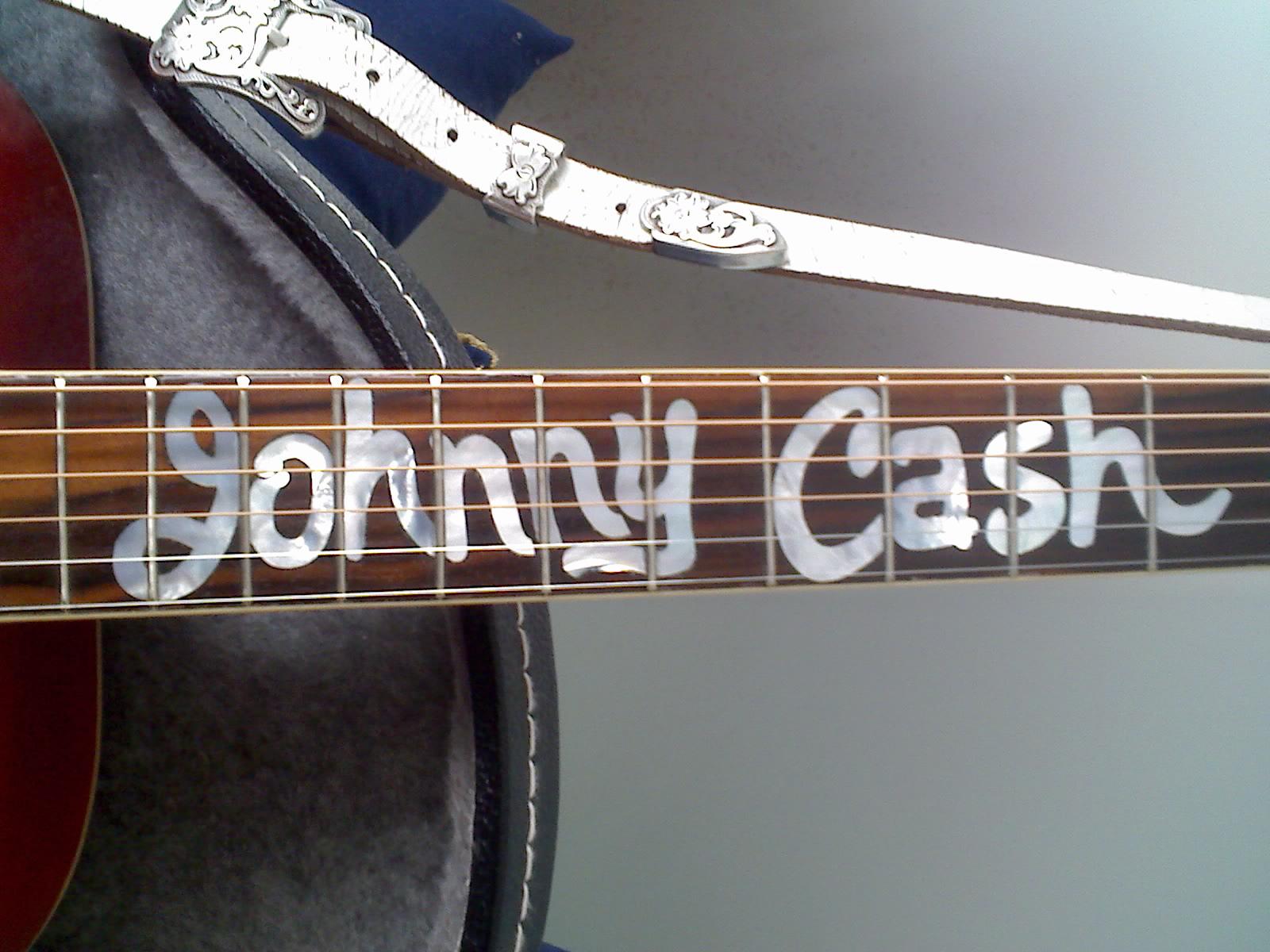 Johnny Cash Fretboard