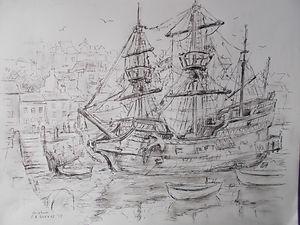 The Galley Boat at Brixham