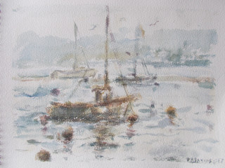 Winter Boats on the Teign Estuary